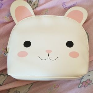 F21 Bunny Makeup Pouch